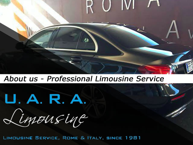 About us - Limousine Service in Italy