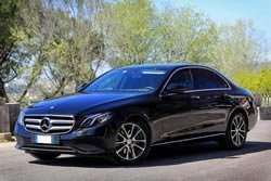 Servizio Transfer con Mercedes E Class