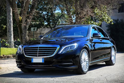 Transfer Services with Mercedes S Class