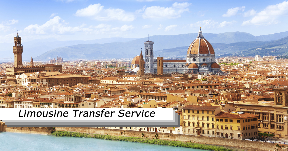 Limousine transfer service in Florence