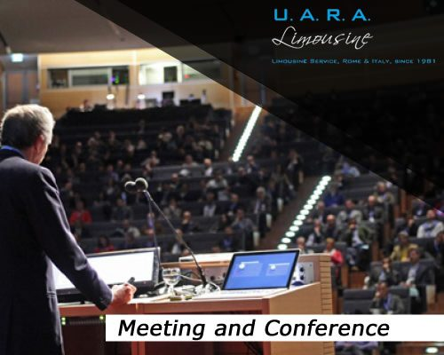 Transfer for meeting and conference in Rome and Italy
